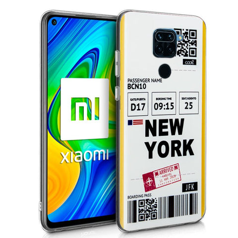 Carcasa Xiaomi Redmi Note 9 Dibujos Travel