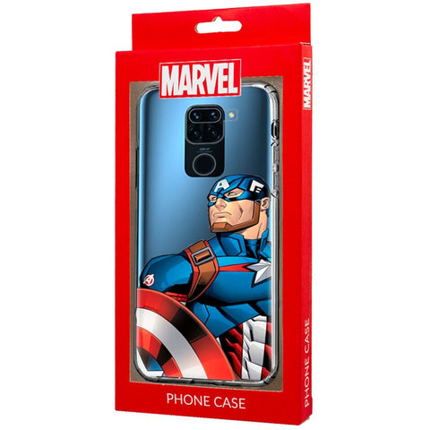 Xiaomi Redmi Note 9 Caso do Capitão América da Marvel