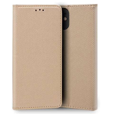 Funda Flip Cover iPhone 11 Liso Beige
