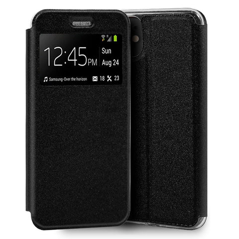 Funda Flip Cover iPhone 11 Liso Negro