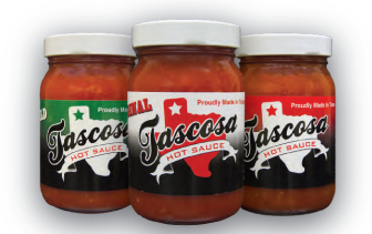 12 Pack Tascosa Hot Sauce Mixed Case