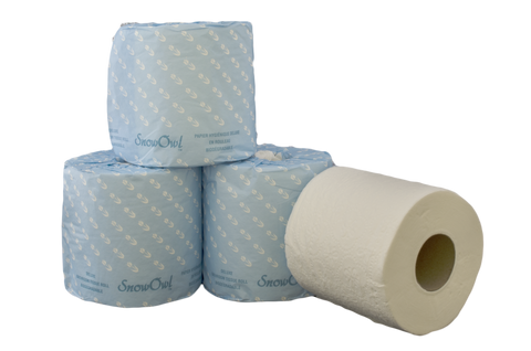 Snow Owl Premium 2 Ply/500 Sheets, 48 Rolls/Case
