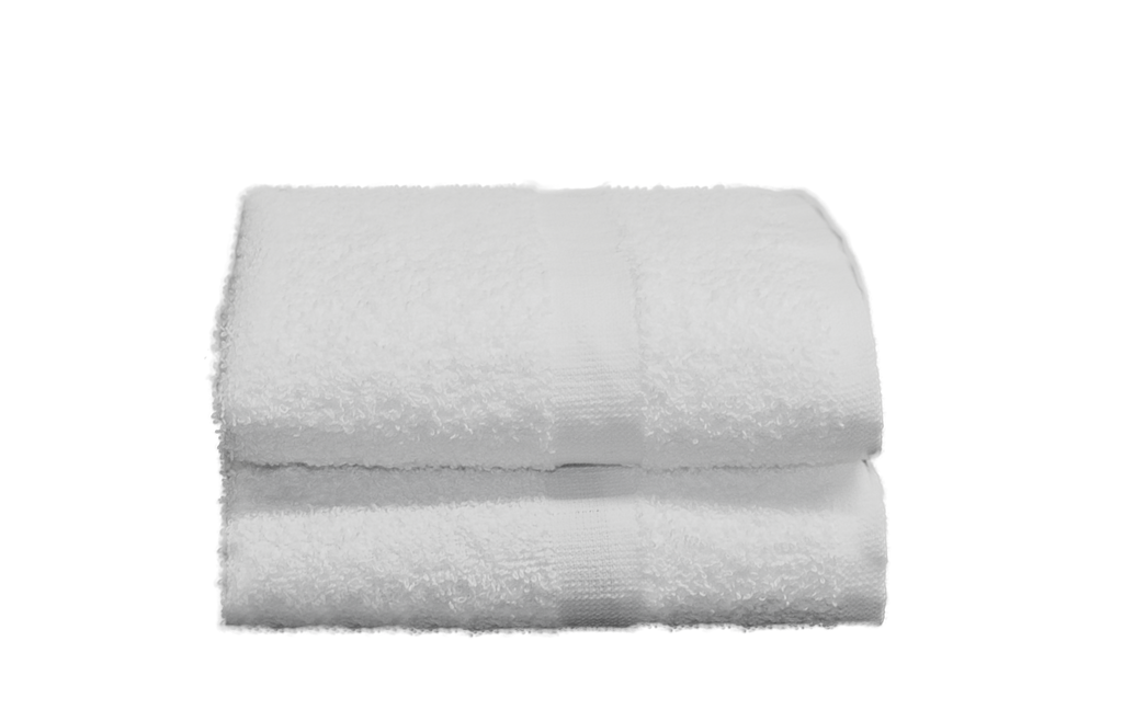 Ambassador Hand Towels 16x27 in White, 3 Lb.