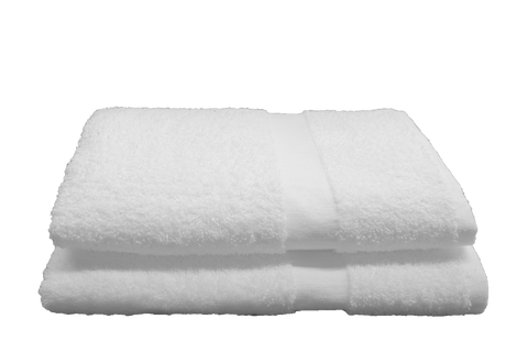 Ambassador Bath Towels 24x48 in White, 8 Lb.