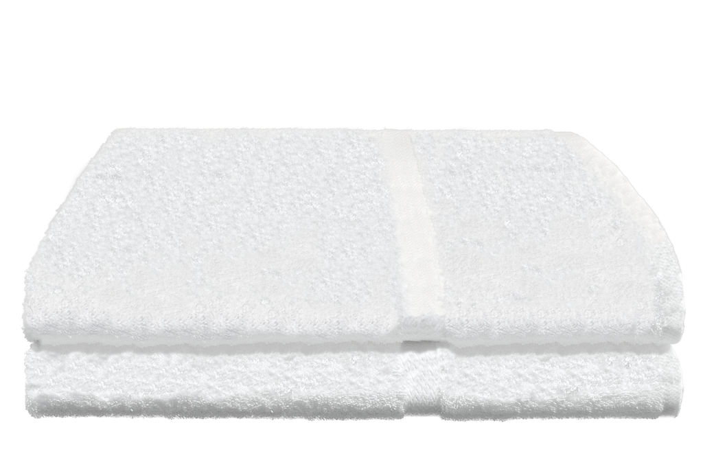 Avanti Bath Towels 27x54 in White, 17 Lb.