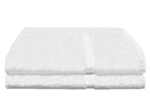Avanti Bath Towels 27x60 in White, 17 Lb.