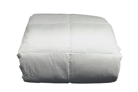 Elegance T-250 Duvets, 100% Cotton, Twin 68x90 in White