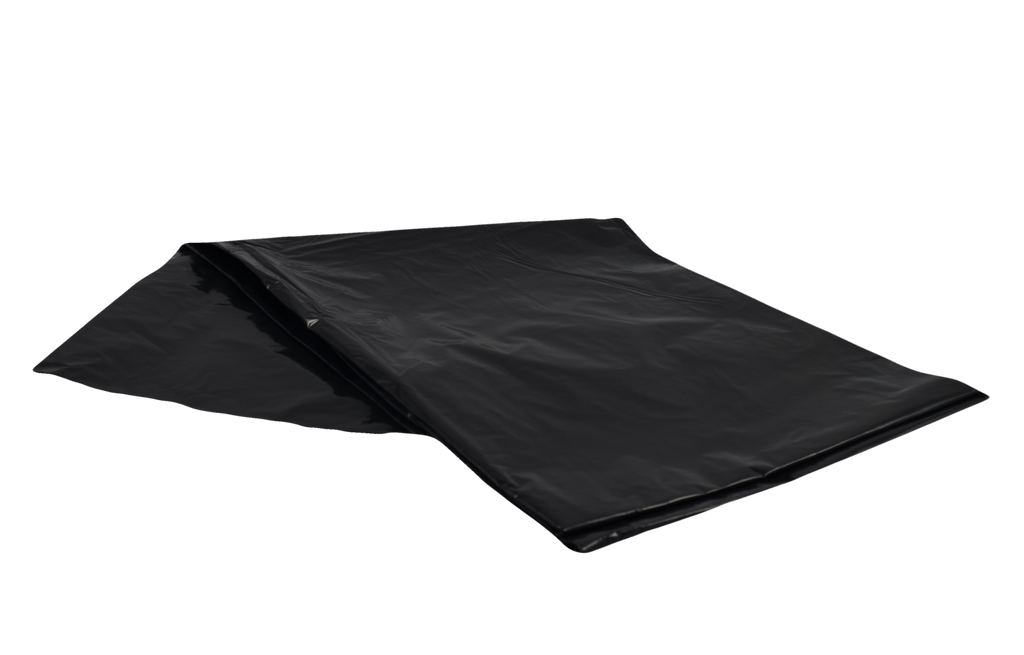 "30""x38"" Strong Garbage Bags in Black, 200/Case"