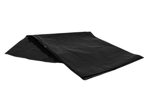 "42""x48"" Extra Strong Garbage Bags in Black, 150/Case"
