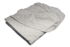 Diamond Collection 16 Oz. Fill Mattress Pad Contoured Double 54x75 in White
