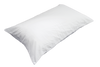 TriCare Zippered T-180 Pillow Protector Queen 20x30 in White