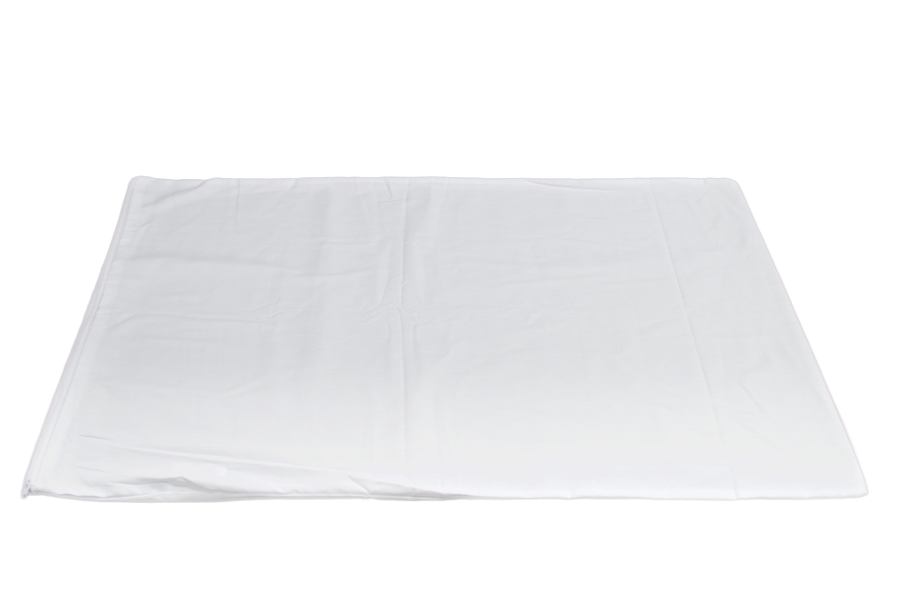 TriCare Zippered Pillow Protector Queen 20x30 in White