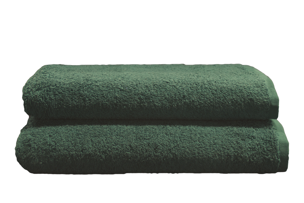 Renaissance Collection - Colours Bath Towel 27x54 in Hunter Green, 14 Lb.