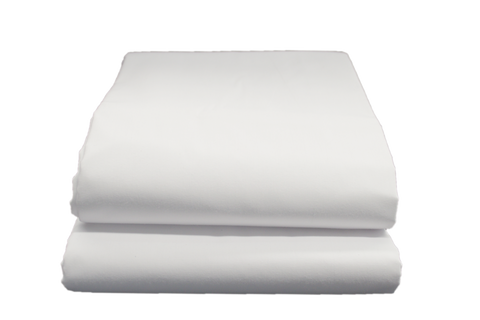 Supertex T-180 Fitted Sheets Single 39x80x9 in White