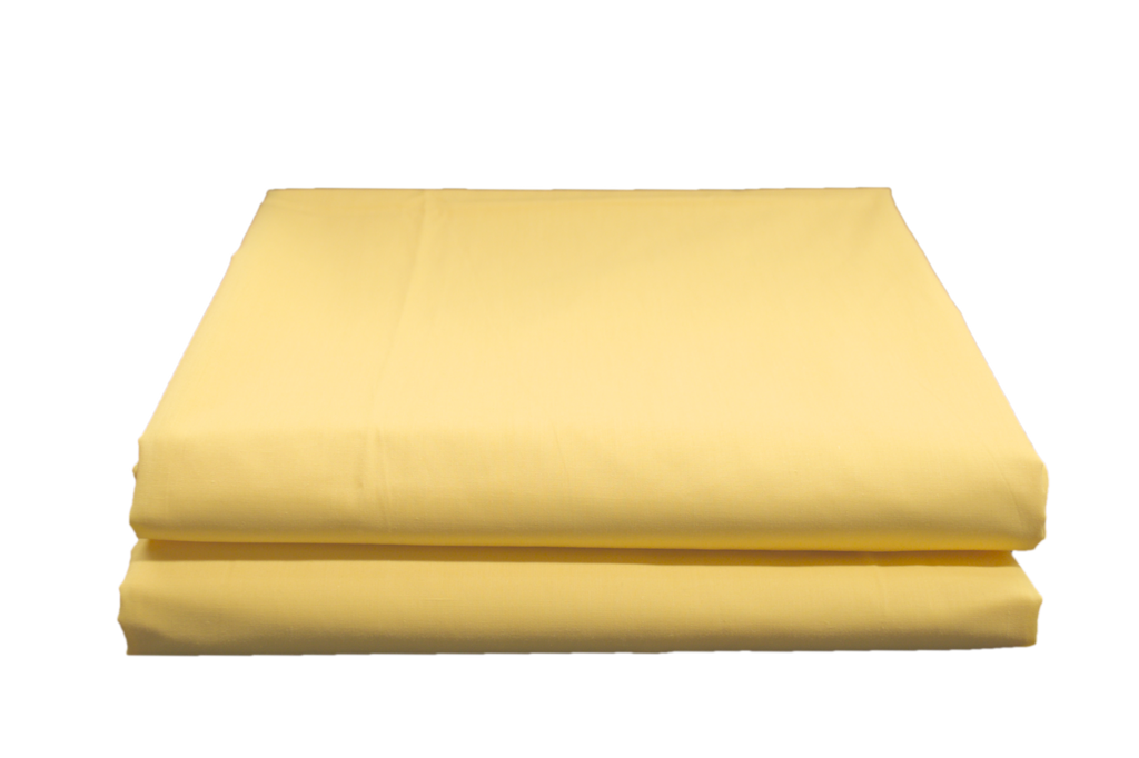 Supertex T-180 Flat Sheets Bunk 54x90 in Yellow