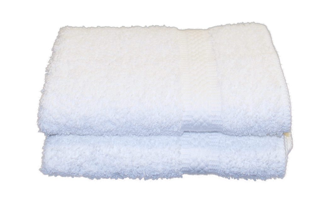 Tristar Elegance Face Cloths 13x13 in White, 1.5 Lb.