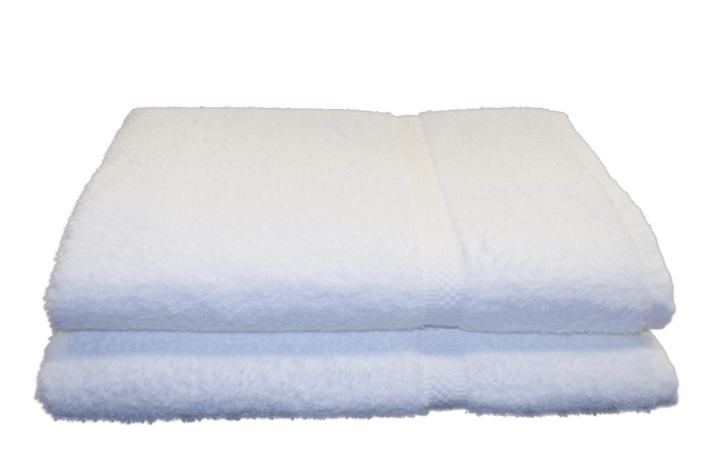Tristar Elegance Bath Towels 27x54 in White, 15 Lb.