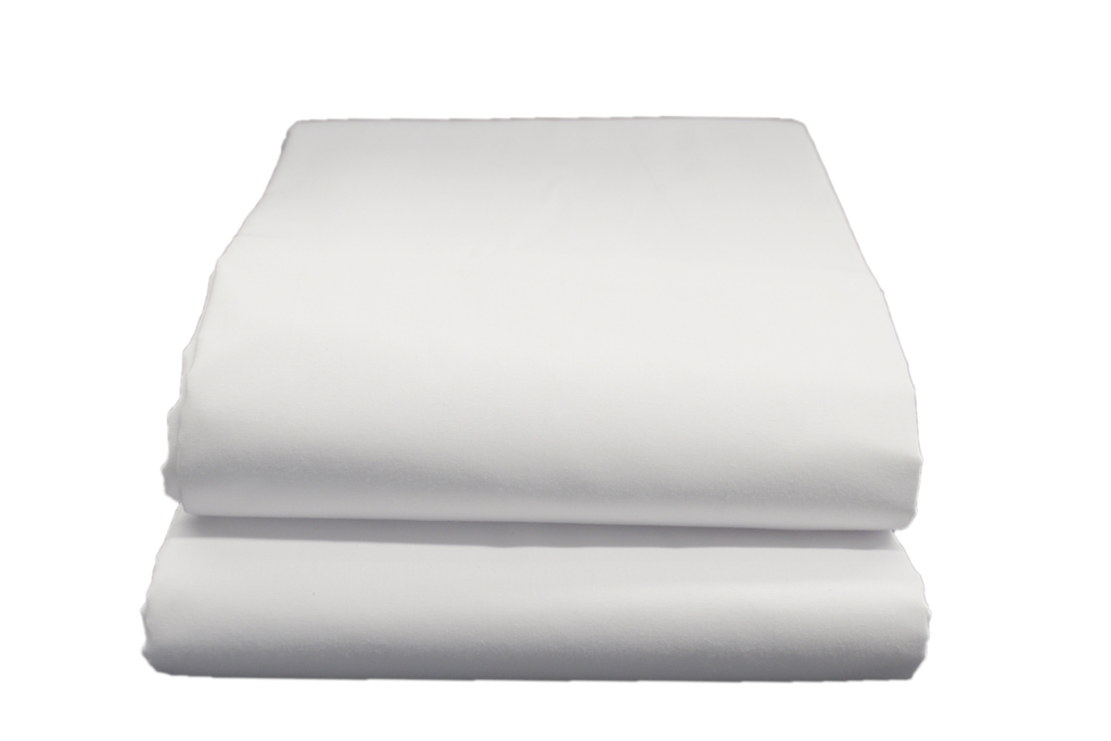 Thomaston T-180 Flat Sheets King 108x115 in White