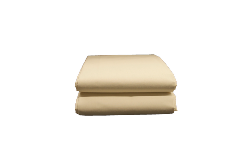 Thomaston T-200 Flat Sheets Double 81x115 in Bone