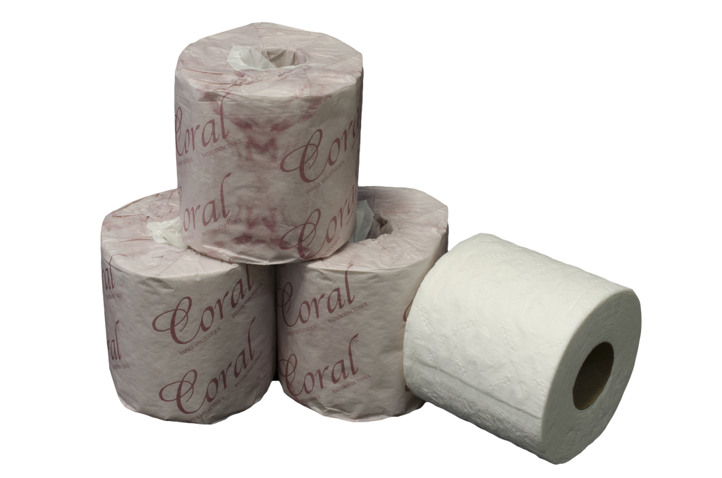 Coral Soft 2 Ply/420 Sheets/Roll, 48 Rolls/Case