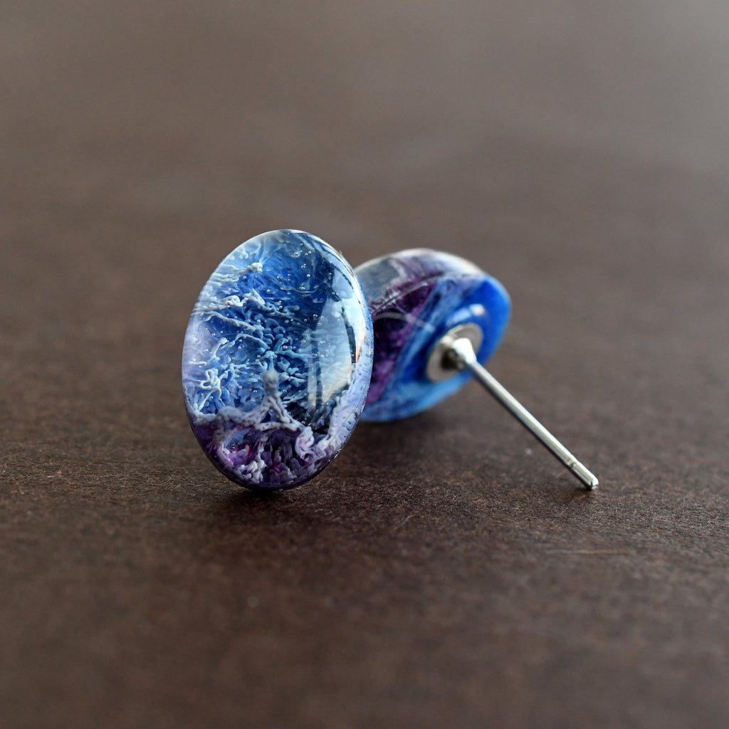 Galaxy Stud Earrings
