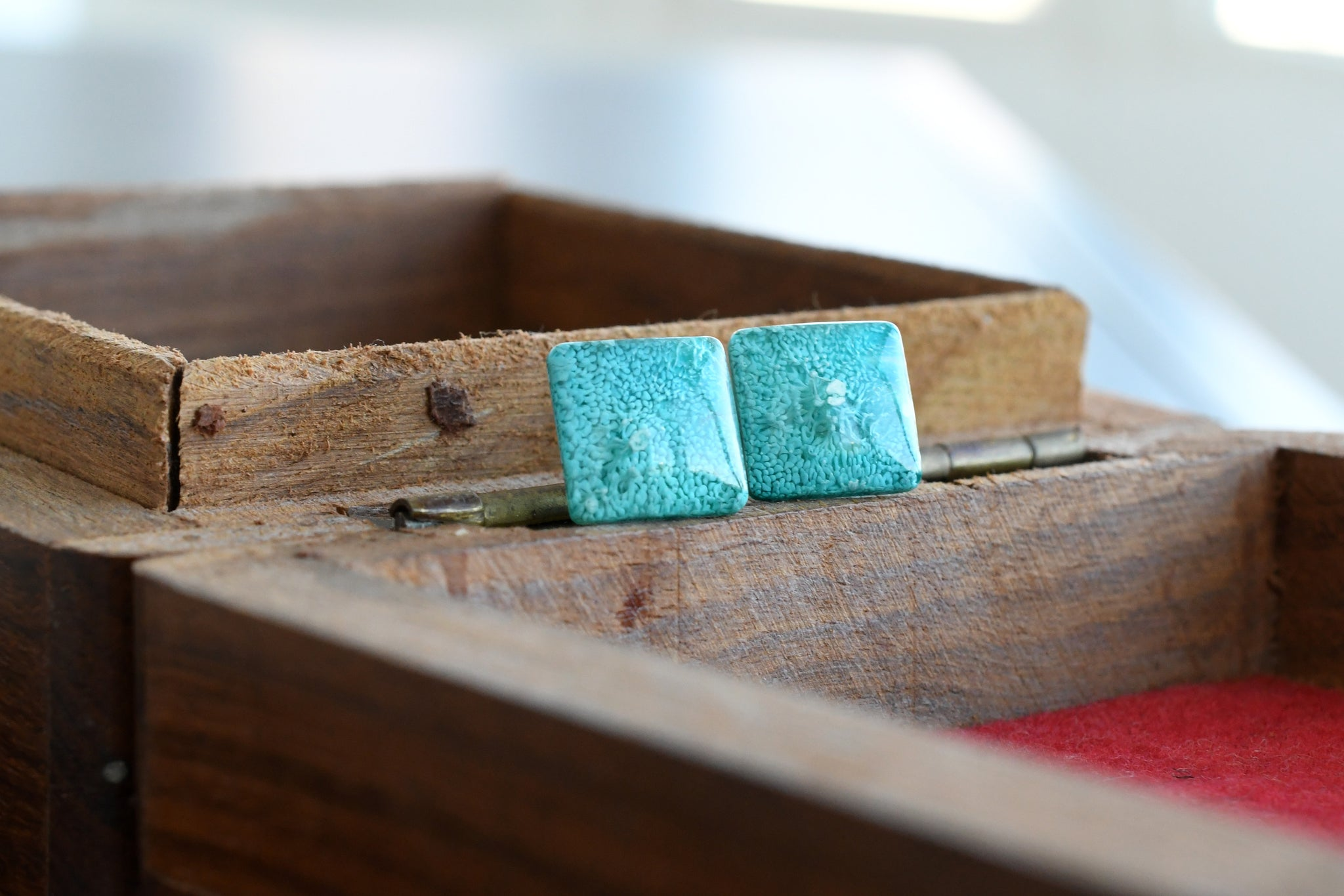 Something Blue Stud Earrings