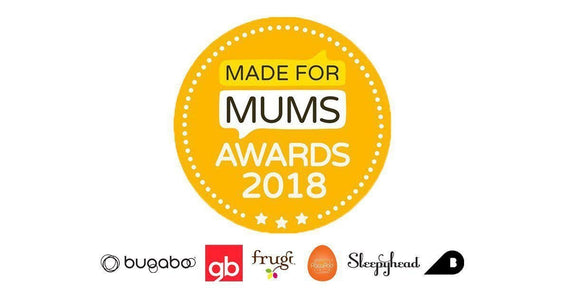 Made for Mum Awards - GOLD winners