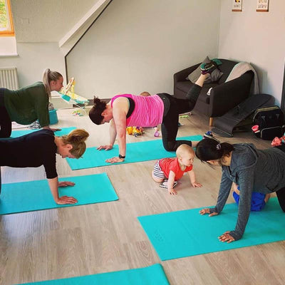 Five easy ways to get fit with your baby in 2019