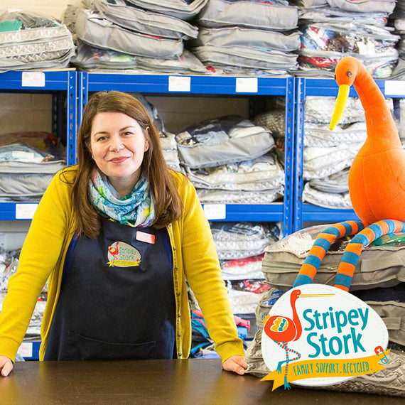 Natural Baby Shower teams up with Stripey Stork charity