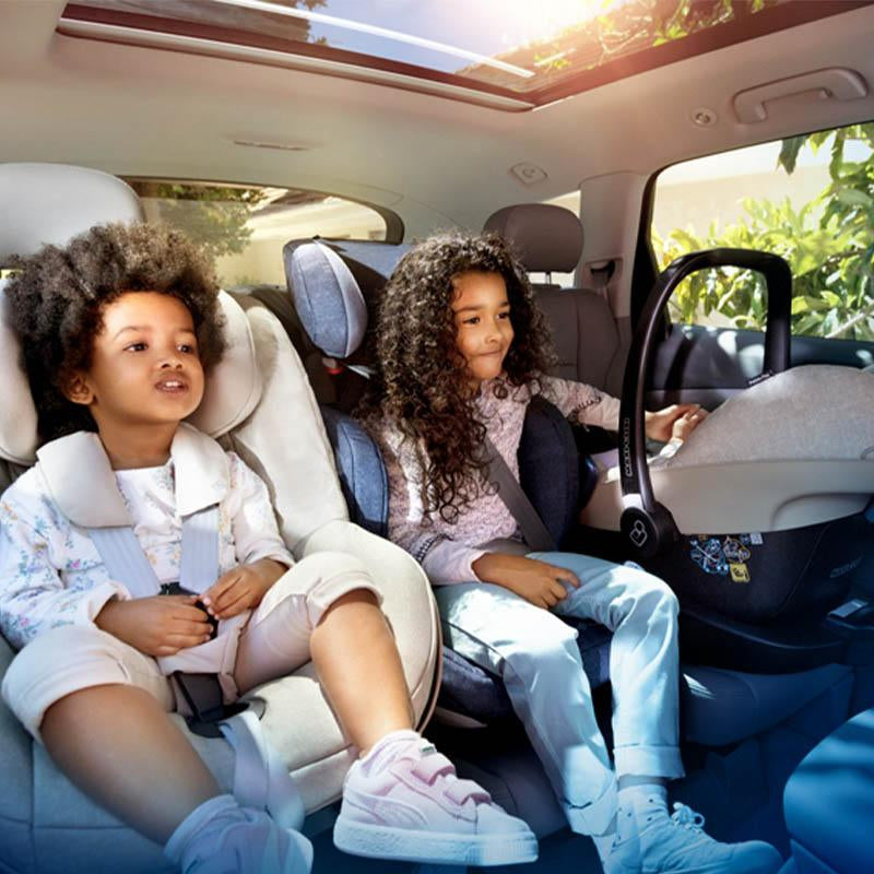 Ages 3-12 Years Isofix Compatible Group 2//3 Silver Cross Discover Car Seat
