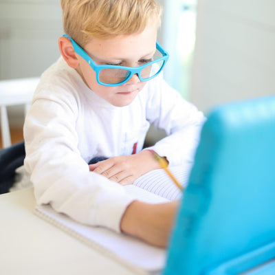 Why Your Children Should Be Wearing Blue Light Blocking Glasses