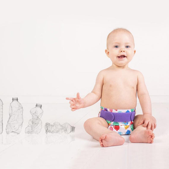 TotsBots start making reusable nappies from plastic waste