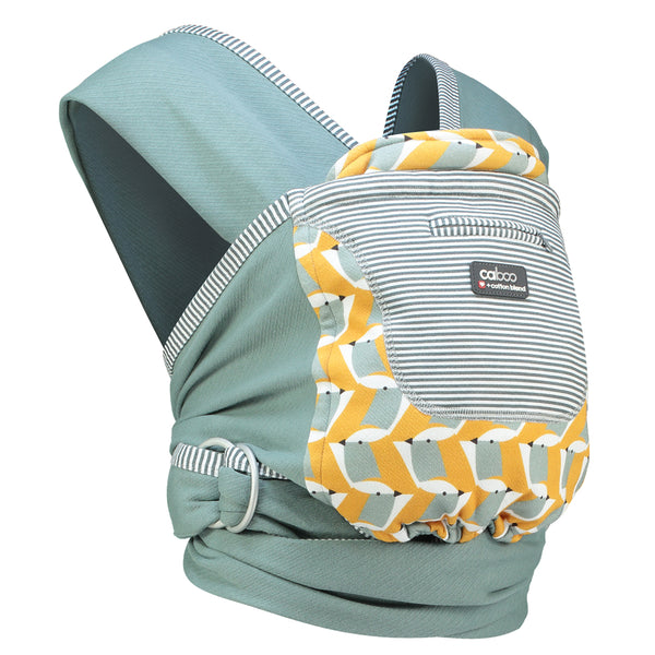 Close Caboo + Cotton Blend baby carrier at Natural Baby Shower