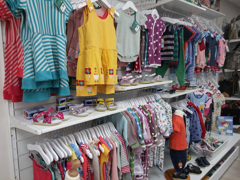 brands such as colourful Frugi