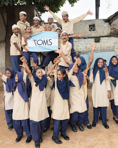 Toms Shoes One for One Mission