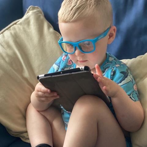 Parent Approved Review = Babiators Blue Light Screen Savers Review 3