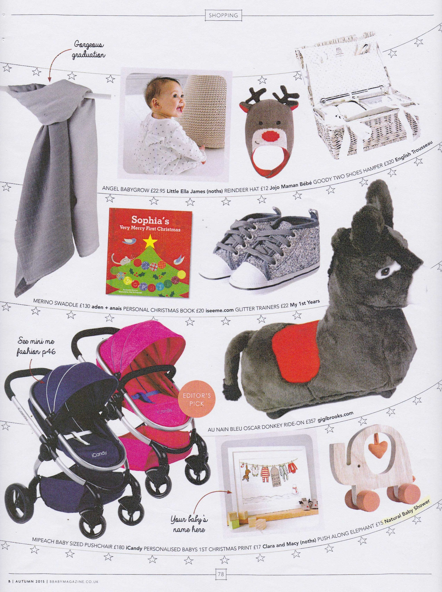 B Baby Magazine Christmas Guide