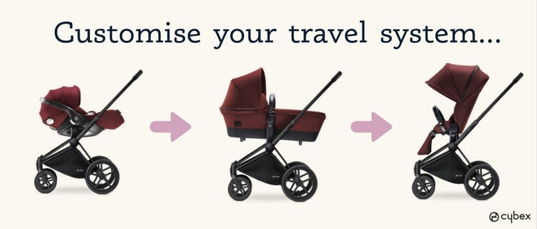 customise your travel system and save