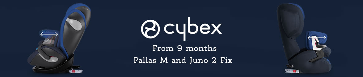 Cybex Car Seats From 9 Months Banner