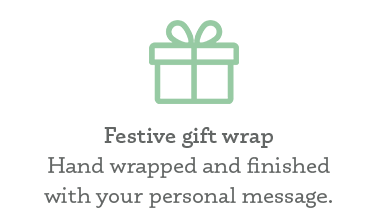 Make it special with our festive gift wrapping service