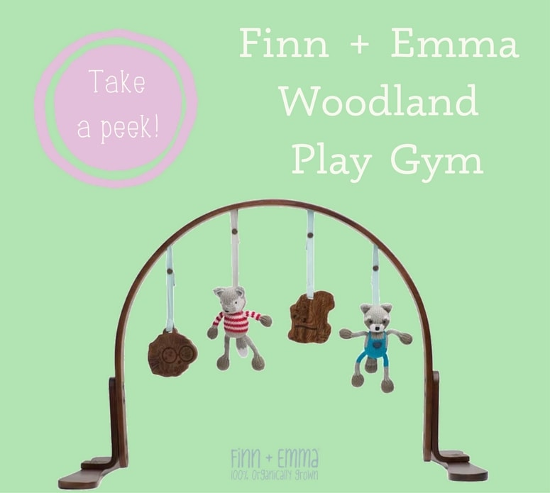 Woodland play gym from Finn and Emma