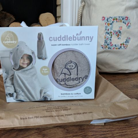 Cuddledry Hooded Towel = Parent Approved 1