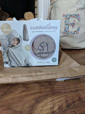 Cuddledry bunny towel review
