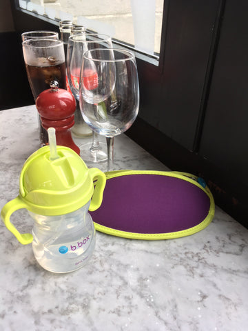 b.box sippy cup and travel bib