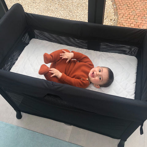 Parent Approved Review = Bugaboo Stardust Travel Cot 3