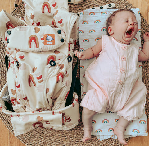 Tula X NBS Rosewood Rainbows Carrier review