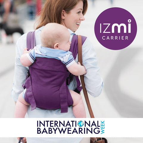 Izmi Baby Carriers baby wearing