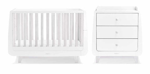 Luxe Cot and Change Unit