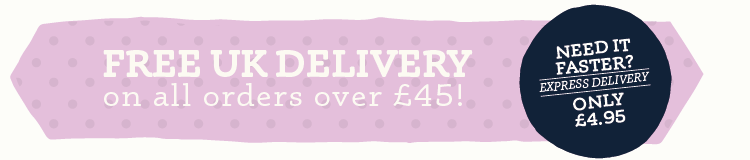Free Delivery on orders over £45