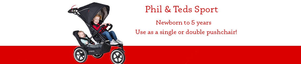 Phil & Teds Sport Banner